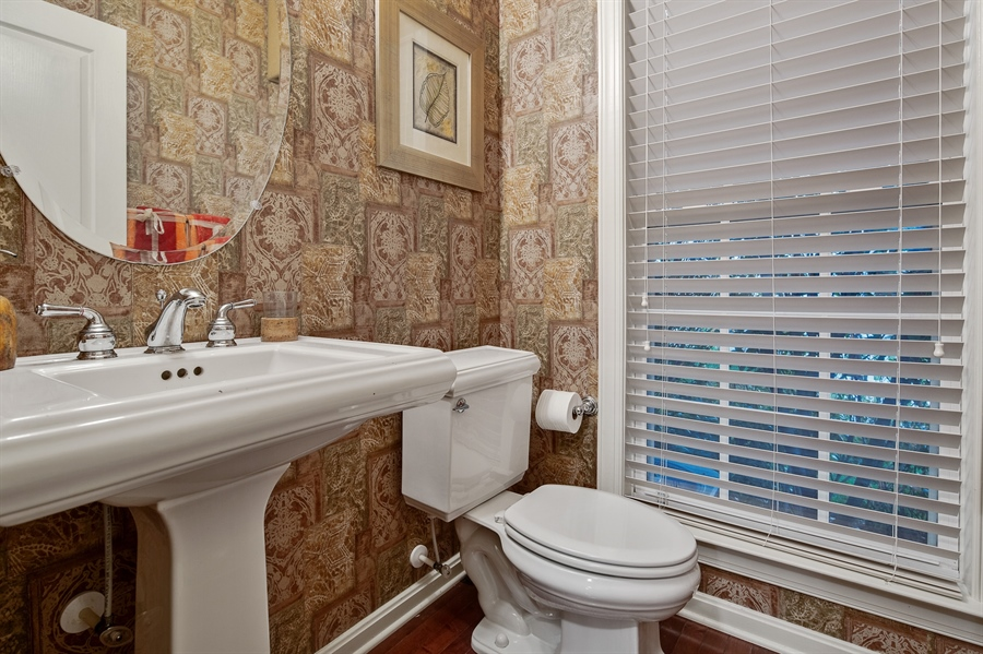 Real Estate Photography - 39 Hempstead Dr, Newark, DE, 19702 - Powder Room on Main Level