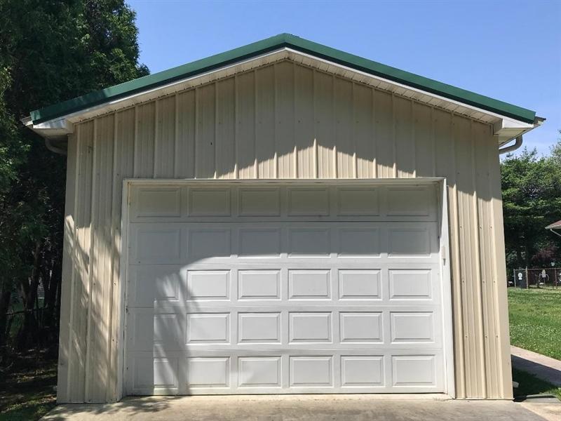 Real Estate Photography - 731 N West St, Dover, DE, 19904 - Oversized, deep one car detached garage