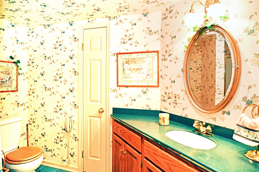 Real Estate Photography - 5 Forest Creek Ln, Wilmington, DE, 19809 - Lower level full bathroom