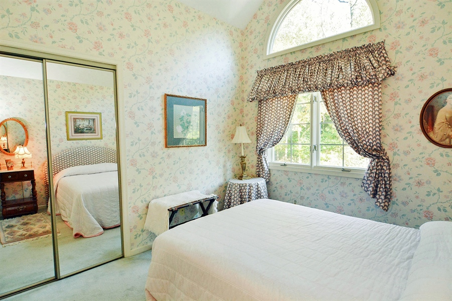 Real Estate Photography - 5 Forest Creek Ln, Wilmington, DE, 19809 - 3rd Bedroom/vaulted ceiling