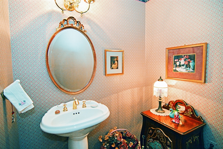 Real Estate Photography - 5 Forest Creek Ln, Wilmington, DE, 19809 - First floor Powder Room