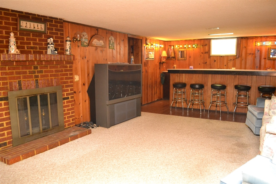 Real Estate Photography - 104 Keystone Avenue, Wilmington, DE, 19804 - Wood Burning Fireplace