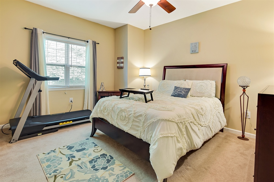 Real Estate Photography - 1921 Hickory Hill Rd, Chadds Ford, PA, 19317 - Main level bedroom