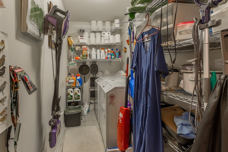 Real Estate Photography - 320 Clearbrooke Blvd, Seaford, DE, 19973 - PANTRY AND UTILITY ROOM