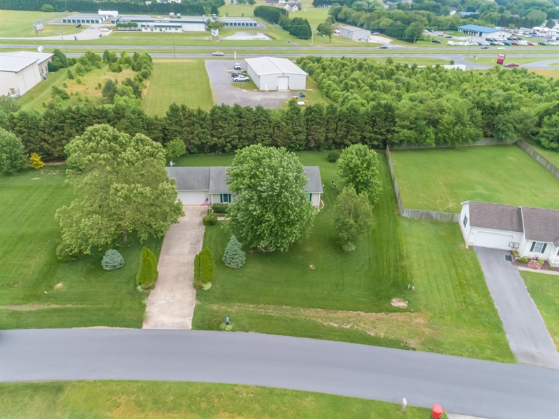 Real Estate Photography - 320 Clearbrooke Blvd, Seaford, DE, 19973 - AERIAL VIEW
