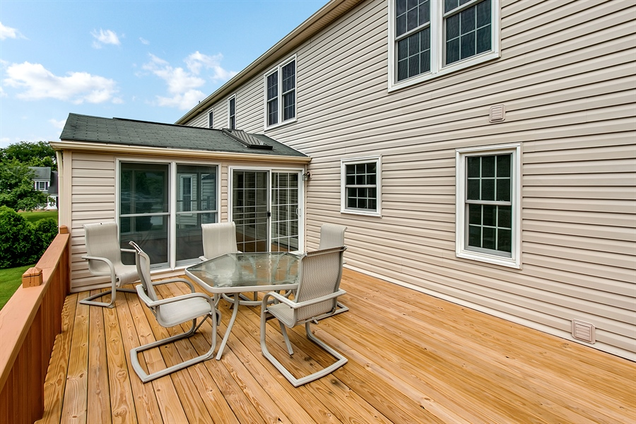 Real Estate Photography - 104 Wren Way, Newark, DE, 19711 - One More View Of The Spacious Deck!