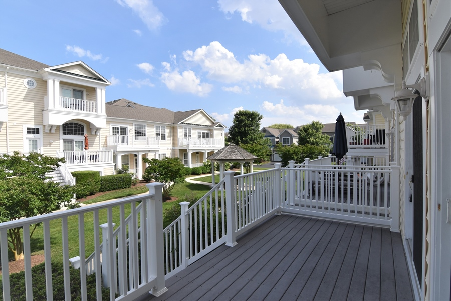 Real Estate Photography - 38399 N Mill Lane #102, 102, Ocean  View, DE, 19970 - View of front deck