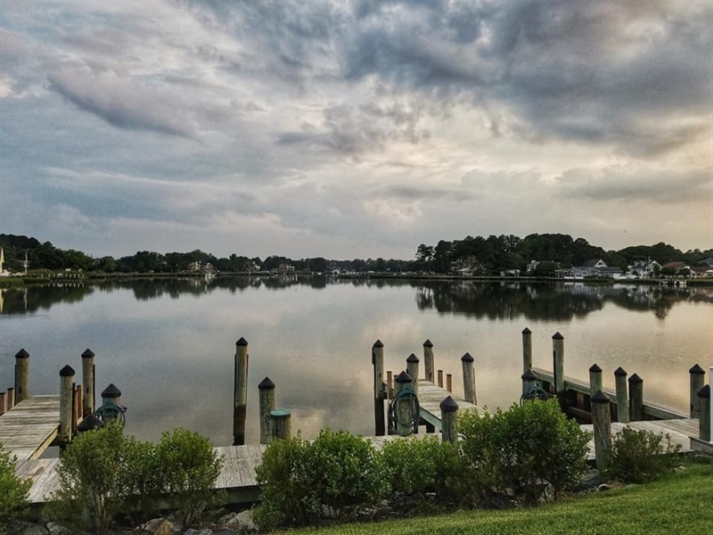 Real Estate Photography - 38399 N Mill Lane #102, 102, Ocean  View, DE, 19970 - Stunning views as the sun sets