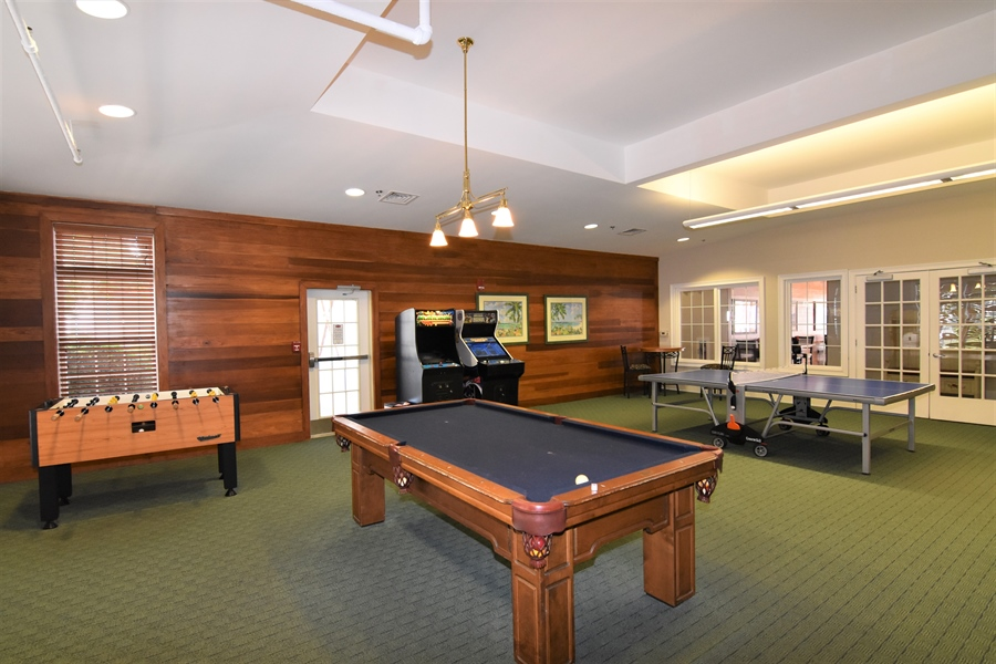 Real Estate Photography - 38399 N Mill Lane #102, 102, Ocean  View, DE, 19970 - Game Room