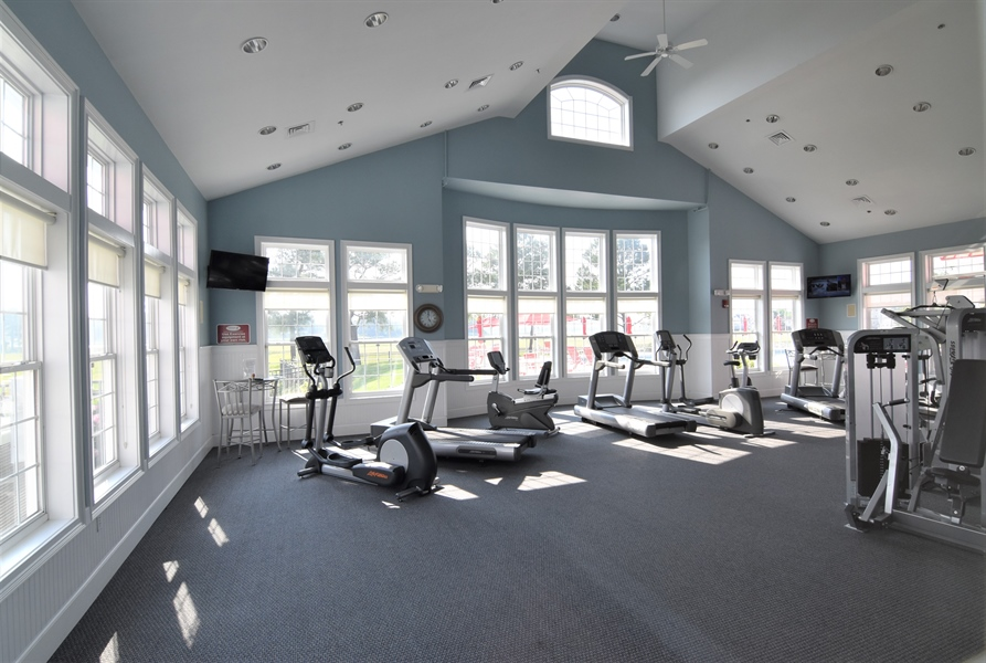 Real Estate Photography - 38399 N Mill Lane #102, 102, Ocean  View, DE, 19970 - Exercise Room