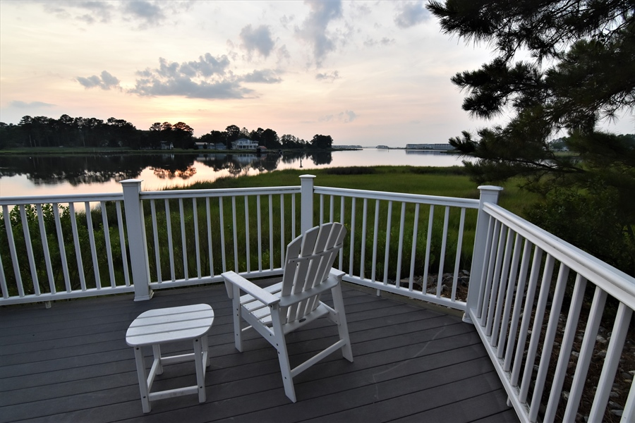 Real Estate Photography - 38399 N Mill Lane #102, 102, Ocean  View, DE, 19970 - Sunset Deck is waiting for you!