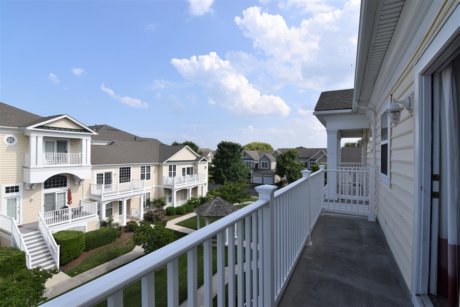 Real Estate Photography - 38399 N Mill Lane #102, 102, Ocean  View, DE, 19970 - View off of Master BR
