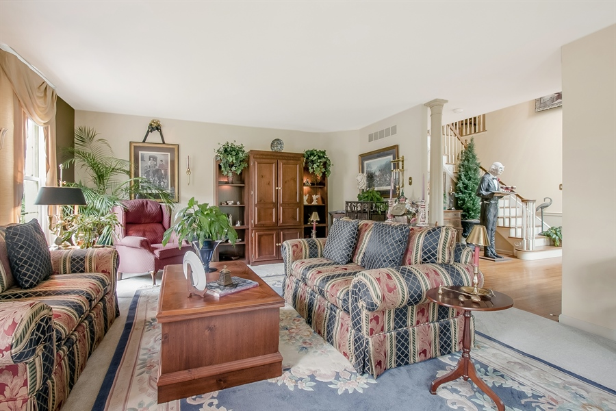 Real Estate Photography - 7 Bayberry Close, Newark, DE, 19711 - Another View Of The Living Room