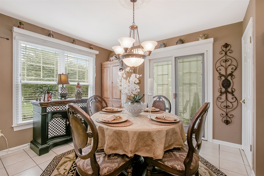 Real Estate Photography - 7 Bayberry Close, Newark, DE, 19711 - Sunny Eat-In Area