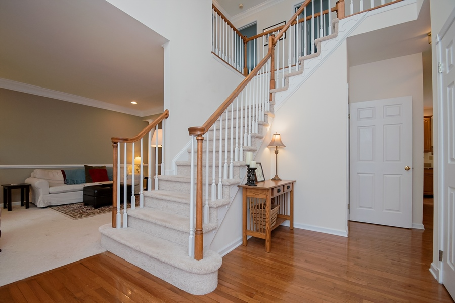 Real Estate Photography - 110 Walker Way, Newark, DE, 19711 - Two-Story Entry Foyer