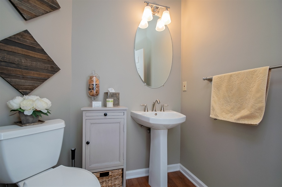 Real Estate Photography - 110 Walker Way, Newark, DE, 19711 - Main Level Powder Room