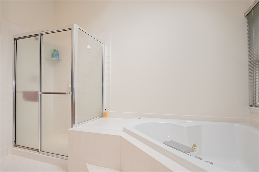 Real Estate Photography - 110 Walker Way, Newark, DE, 19711 - Master Standing Shower
