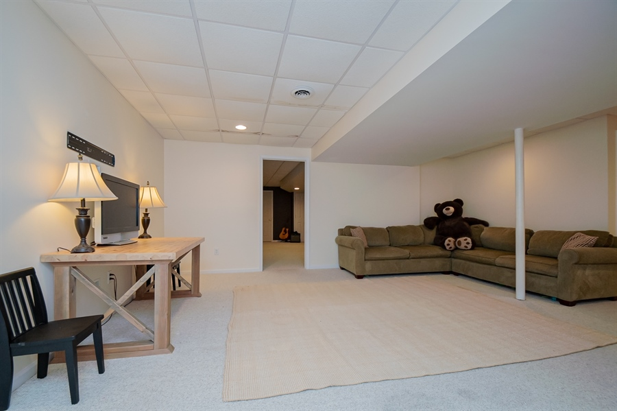 Real Estate Photography - 110 Walker Way, Newark, DE, 19711 - Finished Basement with Separate Room