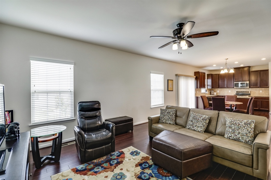 Real Estate Photography - 358 Tiger Lily Drive, Middletown, DE, 19709 - Family Room