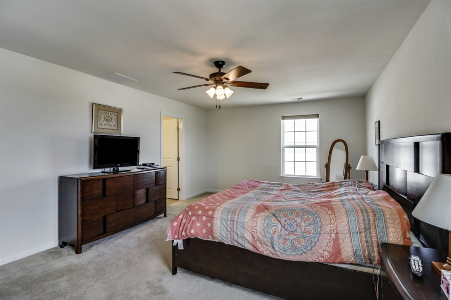 Real Estate Photography - 358 Tiger Lily Drive, Middletown, DE, 19709 - Master Bedroom