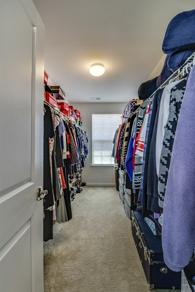 Real Estate Photography - 358 Tiger Lily Drive, Middletown, DE, 19709 - Master Closet