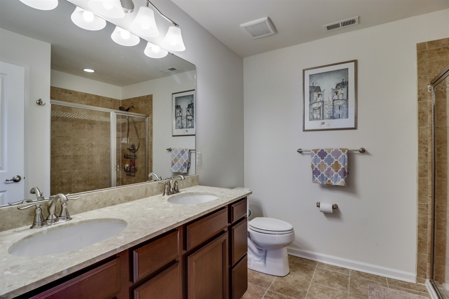 Real Estate Photography - 358 Tiger Lily Drive, Middletown, DE, 19709 - Master Bath