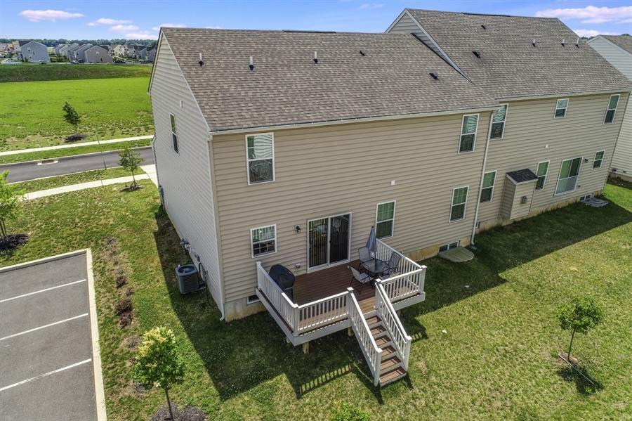 Real Estate Photography - 358 Tiger Lily Drive, Middletown, DE, 19709 - Overhead View