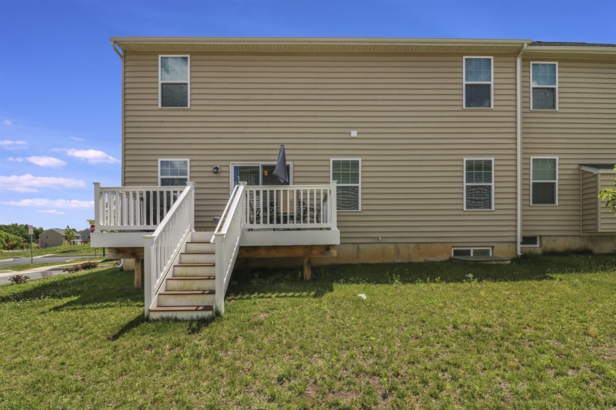Real Estate Photography - 358 Tiger Lily Drive, Middletown, DE, 19709 - Rear Deck
