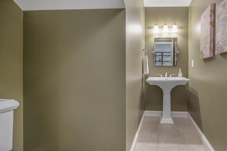 Real Estate Photography - 1411 N Franklin St, Wilmington, DE, 19806 - Half bath on main floor