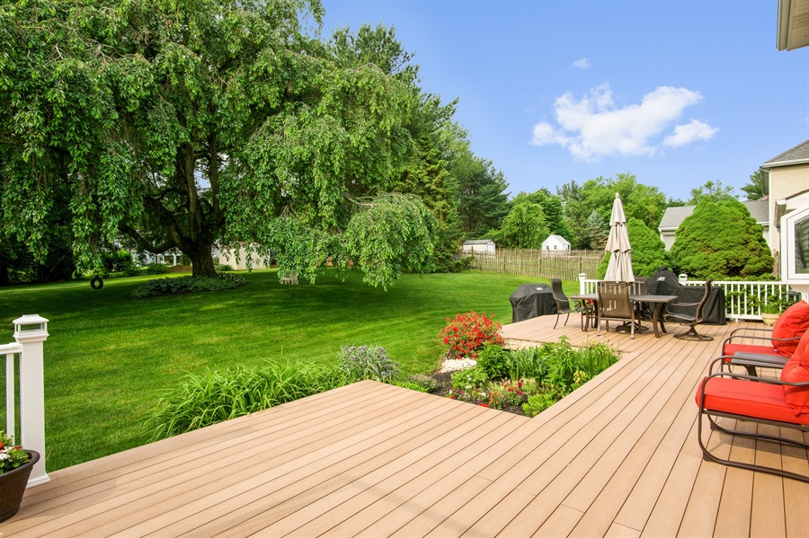 Real Estate Photography - 134 Country Flower Rd, Newark, DE, 19711 - Oversized Composite Deck