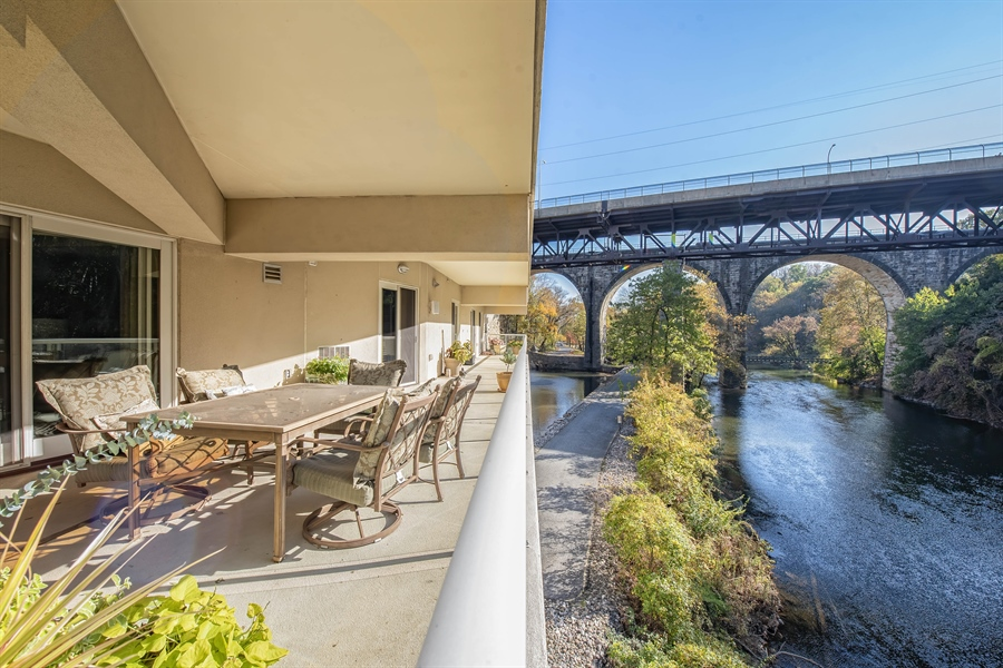 Real Estate Photography - 1702 N Park Drive #18, 18, Wilmington, DE, 19806 - Walking Path Along the River Just Steps Away