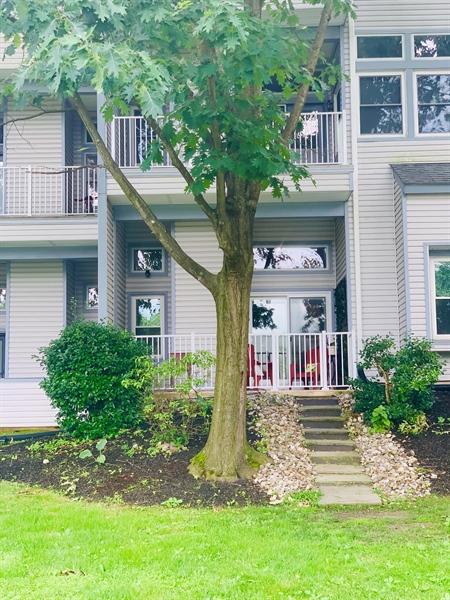 Real Estate Photography - 4603 Birch Cir, Wilmington, DE, 19808 - Rear Entrance