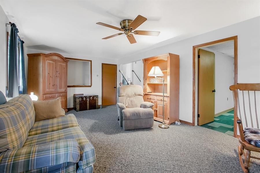 Real Estate Photography - 408 Milmar Rd, Wilmington, DE, 19804 - Lower Level Family Room
