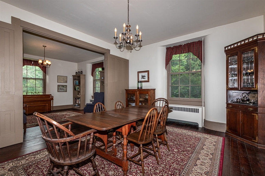 Real Estate Photography - 762 Chambers Rock Rd, Landenberg, PA, 19350 - Dressing room doubles as 2nd floor laundry
