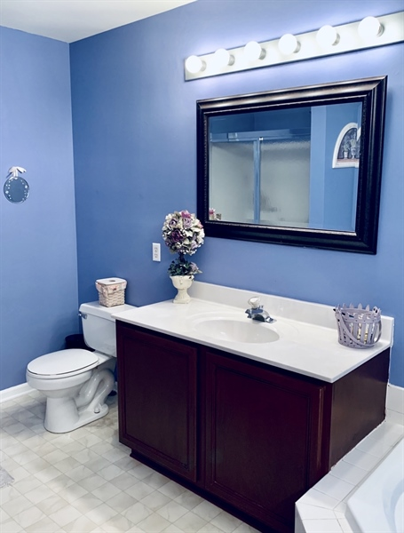 Real Estate Photography - 138 Cornwell Dr, Bear, DE, 19701 - Master Bathroom