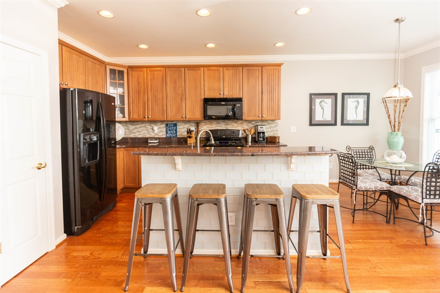 Real Estate Photography - 19350 Mersey Drive #D2, D2, Rehoboth  Beach, DE, 19971 - Upgraded Kitchen