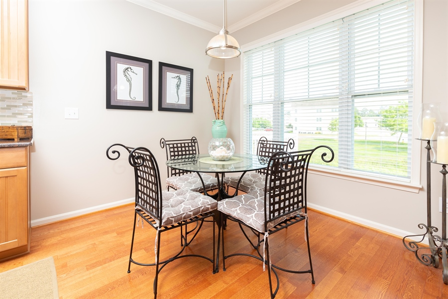 Real Estate Photography - 19350 Mersey Drive #D2, D2, Rehoboth  Beach, DE, 19971 - Bright & Sunny Breakfast Area