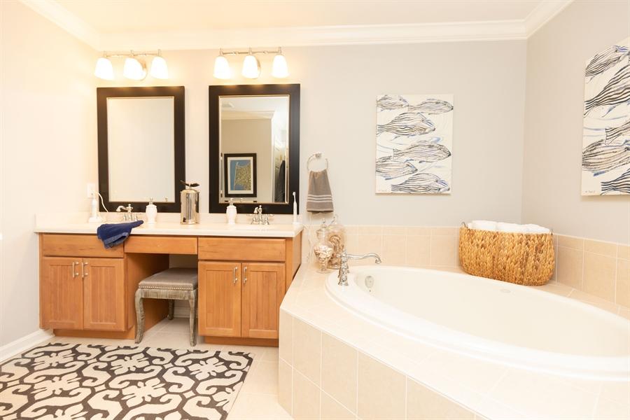 Real Estate Photography - 19350 Mersey Drive #D2, D2, Rehoboth  Beach, DE, 19971 - Owners Stunning Bathroom