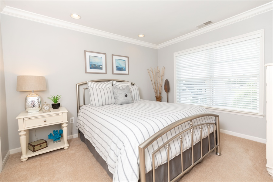 Real Estate Photography - 19350 Mersey Drive #D2, D2, Rehoboth  Beach, DE, 19971 - Pretty Guest Bedroom