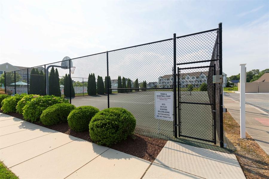 Real Estate Photography - 19350 Mersey Drive #D2, D2, Rehoboth  Beach, DE, 19971 - Tennis Courts