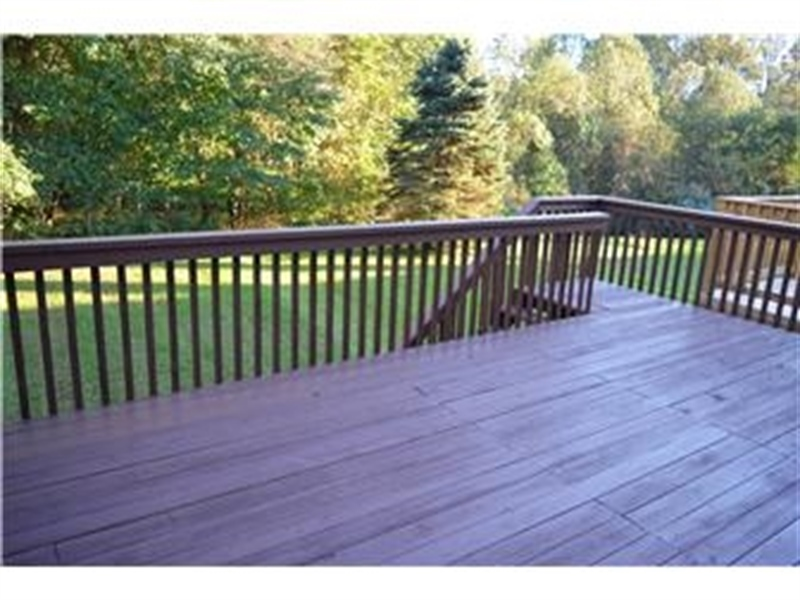 Real Estate Photography - 914 Glackens Ln, Wilmington, DE, 19808 - Large Deck Overlooks the Woods