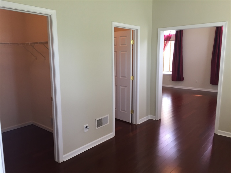 Real Estate Photography - 90 Mccormick Way, Lincoln Univeristy, DE, 19352-9052 - Room /w 2 Closets Leads to #1 BR or Other Suite