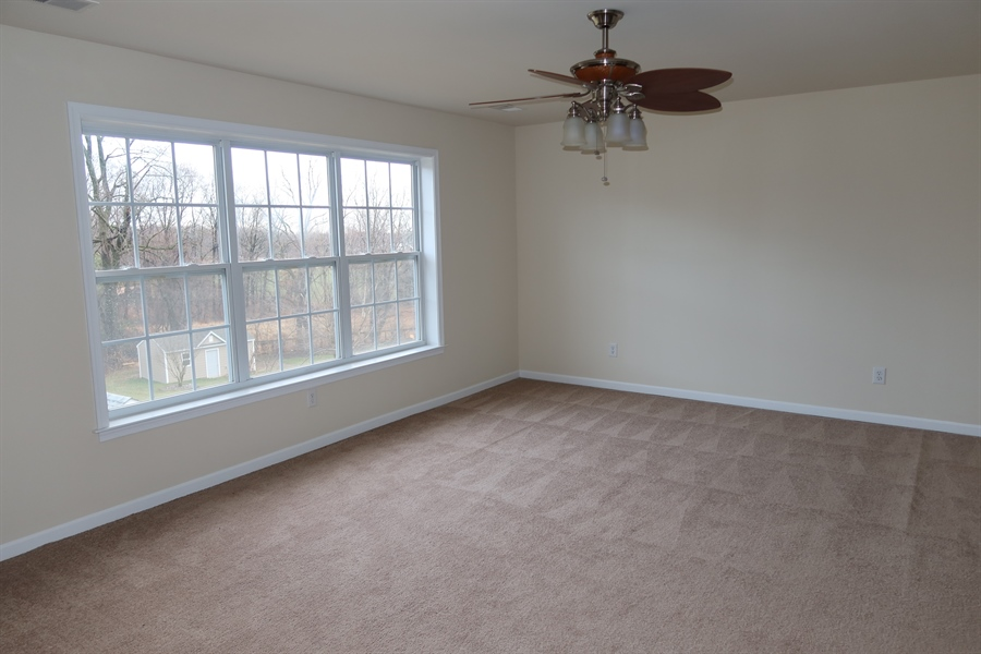 Real Estate Photography - 90 McCormick Way, Lincoln University, PA, 19352 - #2 BR has large walkin closets & private bath