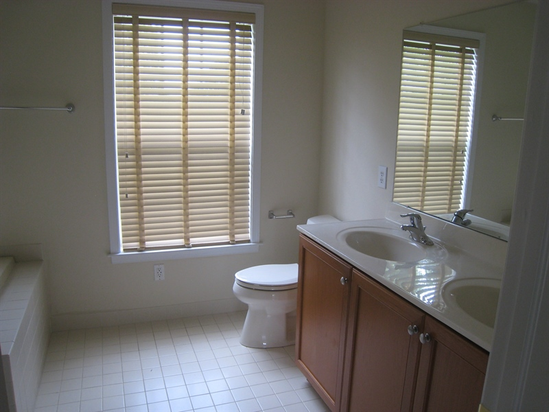 Real Estate Photography - 90 Mccormick Way, Lincoln Univeristy, DE, 19352-9052 - Private Bathroom, Double Sinks