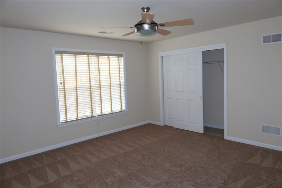 Real Estate Photography - 90 Mccormick Way, Lincoln Univeristy, DE, 19352-9052 - Bedroom 3 with Wood Floor.