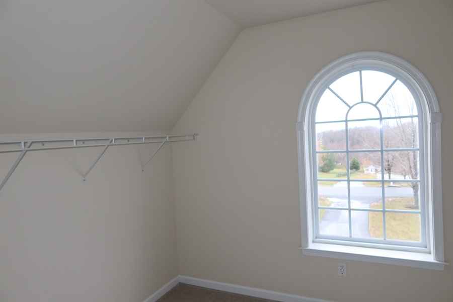 Real Estate Photography - 90 McCormick Way, Lincoln University, PA, 19352 - Window in that Closet