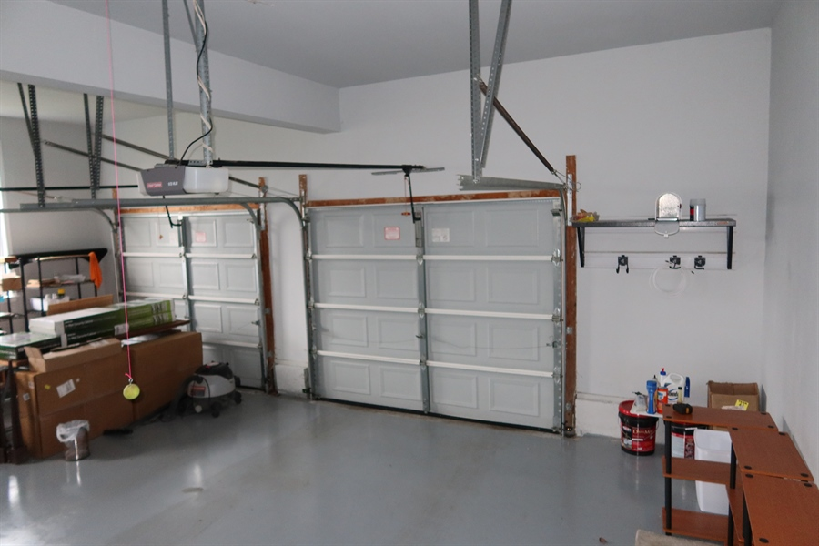 Real Estate Photography - 90 McCormick Way, Lincoln University, PA, 19352 - Over-size Garage with Openers