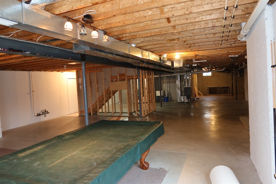 Real Estate Photography - 90 McCormick Way, Lincoln University, PA, 19352 - Massive Full Basement with 2 Heating/AC Systems