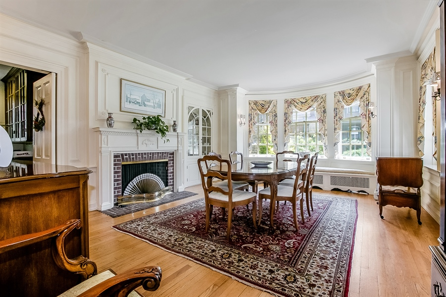 Real Estate Photography - 2000 Woodlawn Ave, Wilmington, DE, 19806 - Dining Room