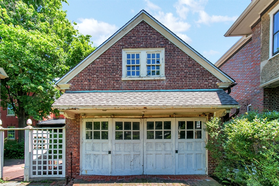 Real Estate Photography - 2000 Woodlawn Ave, Wilmington, DE, 19806 - Two Car Garage with Studio and Bath above